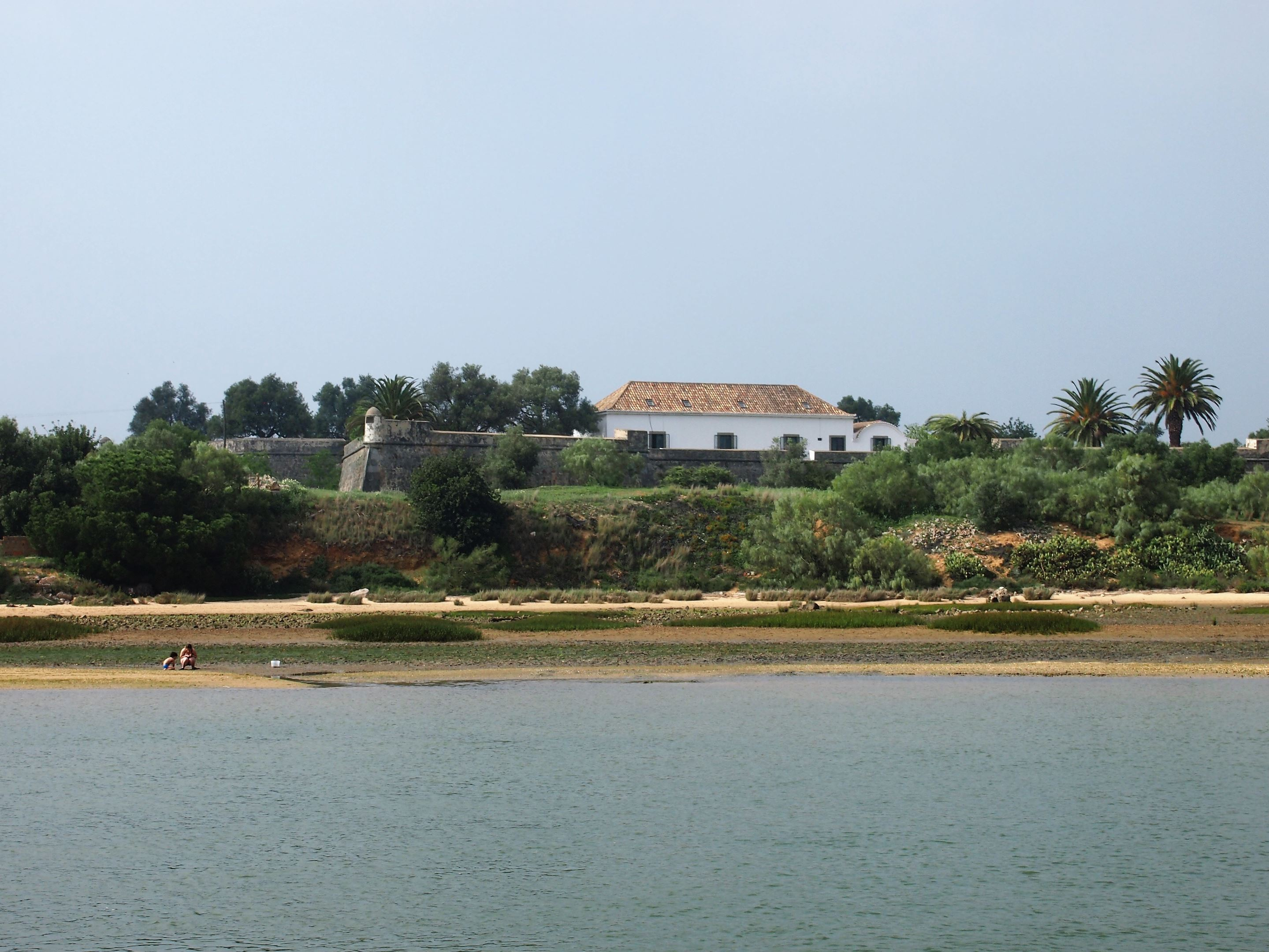 The Fort of São João da Barra, Tavira - now a hotel