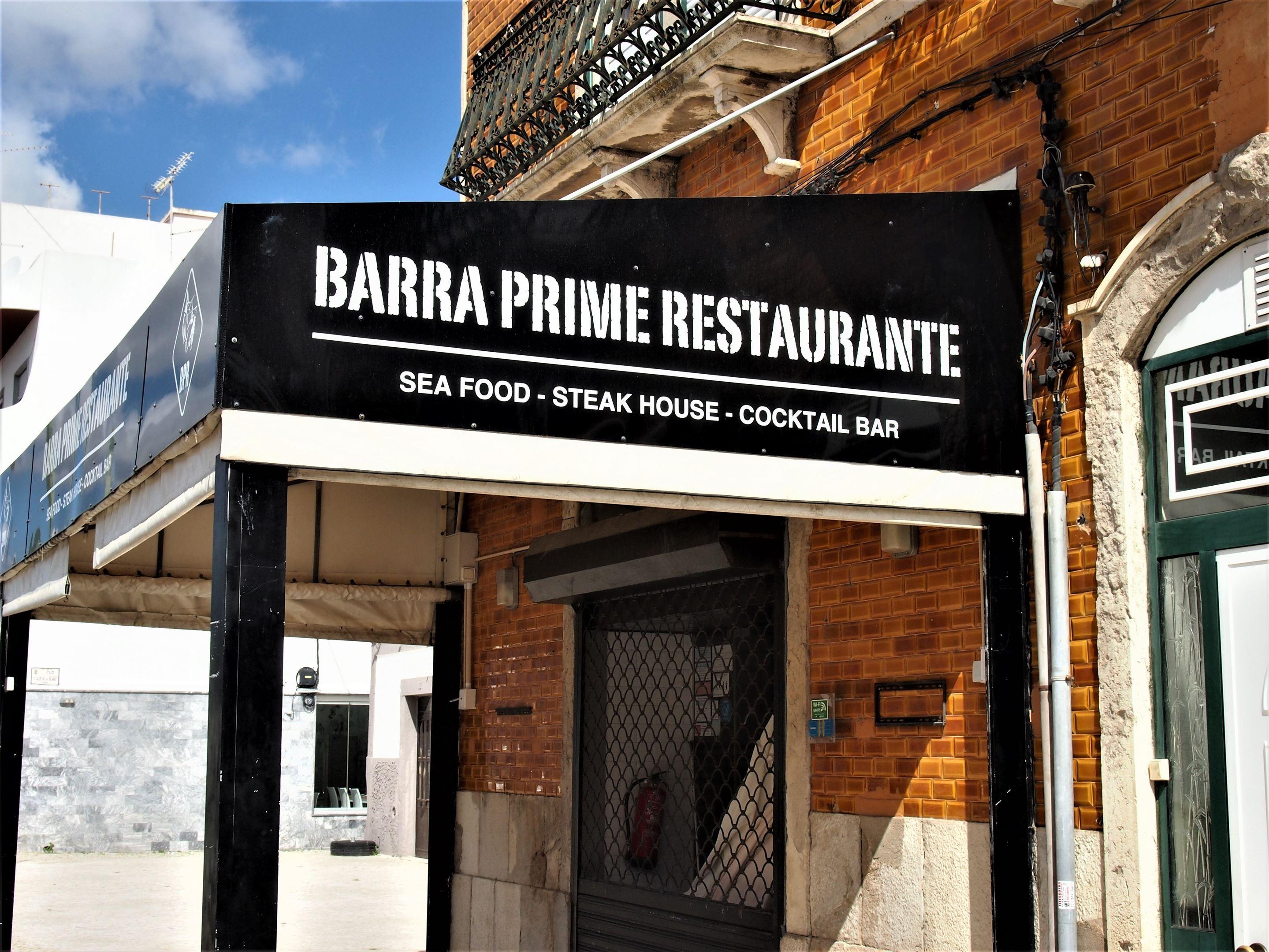 Barra Prime restaurant, Olhão