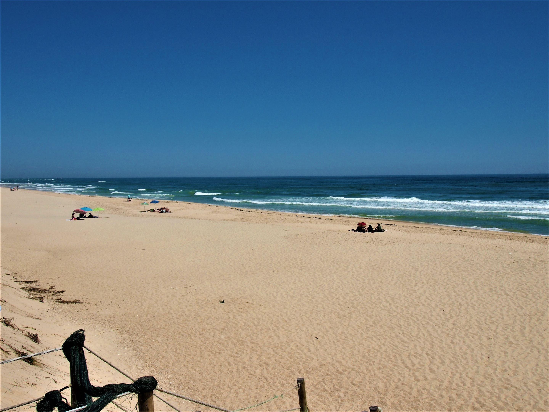 Praia da Culatra, en Olhão, mirando hacia el este
