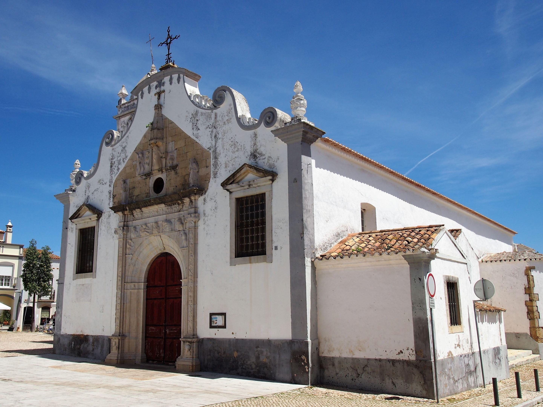 The church of Nossa Senhora da Graça at Moncarapacho