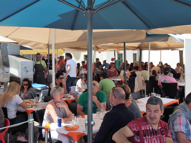 Casa Corvo restaurant, Fuseta