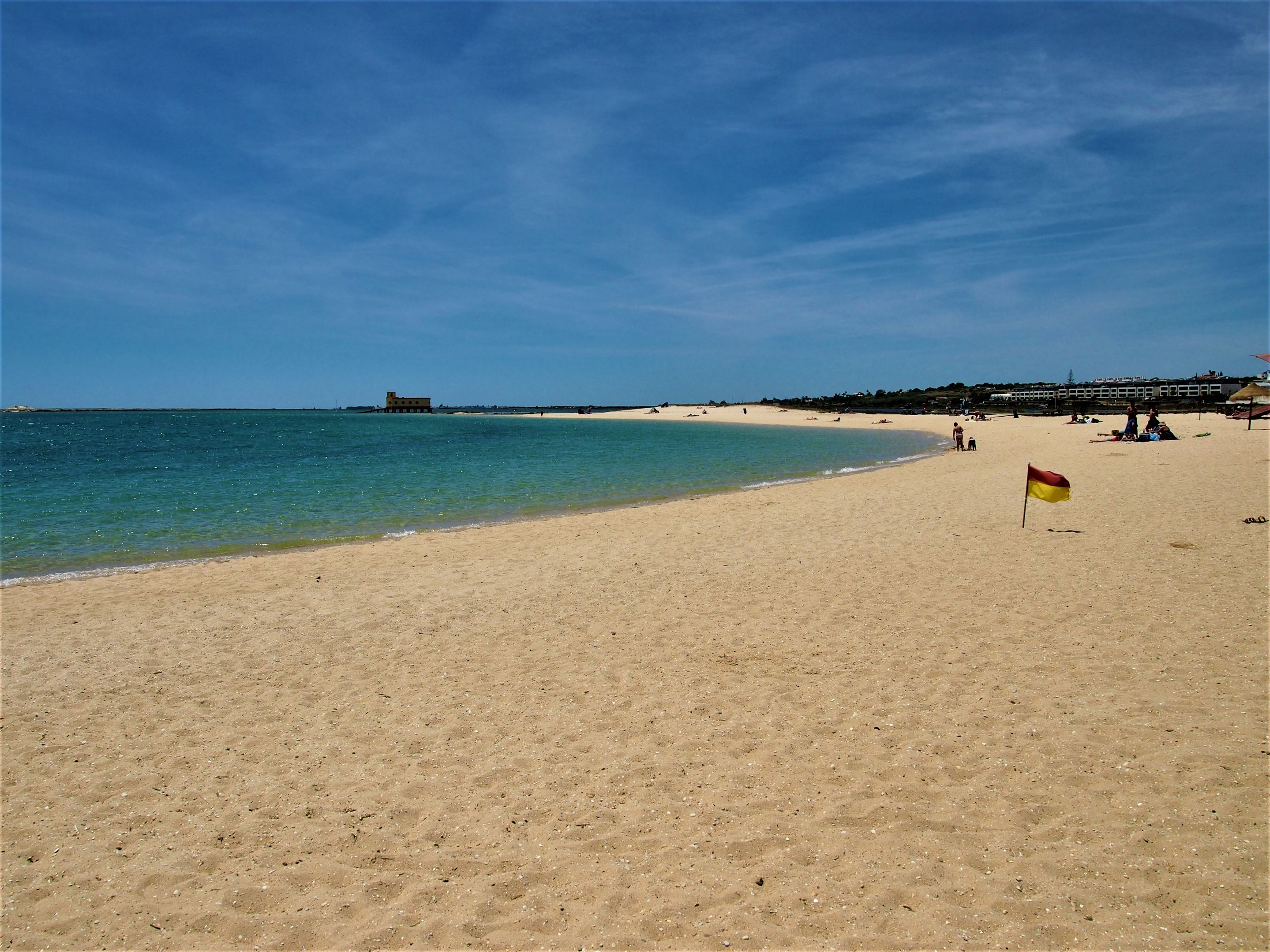 Praia da Fuseta-Ria, the beach at Fuseta
