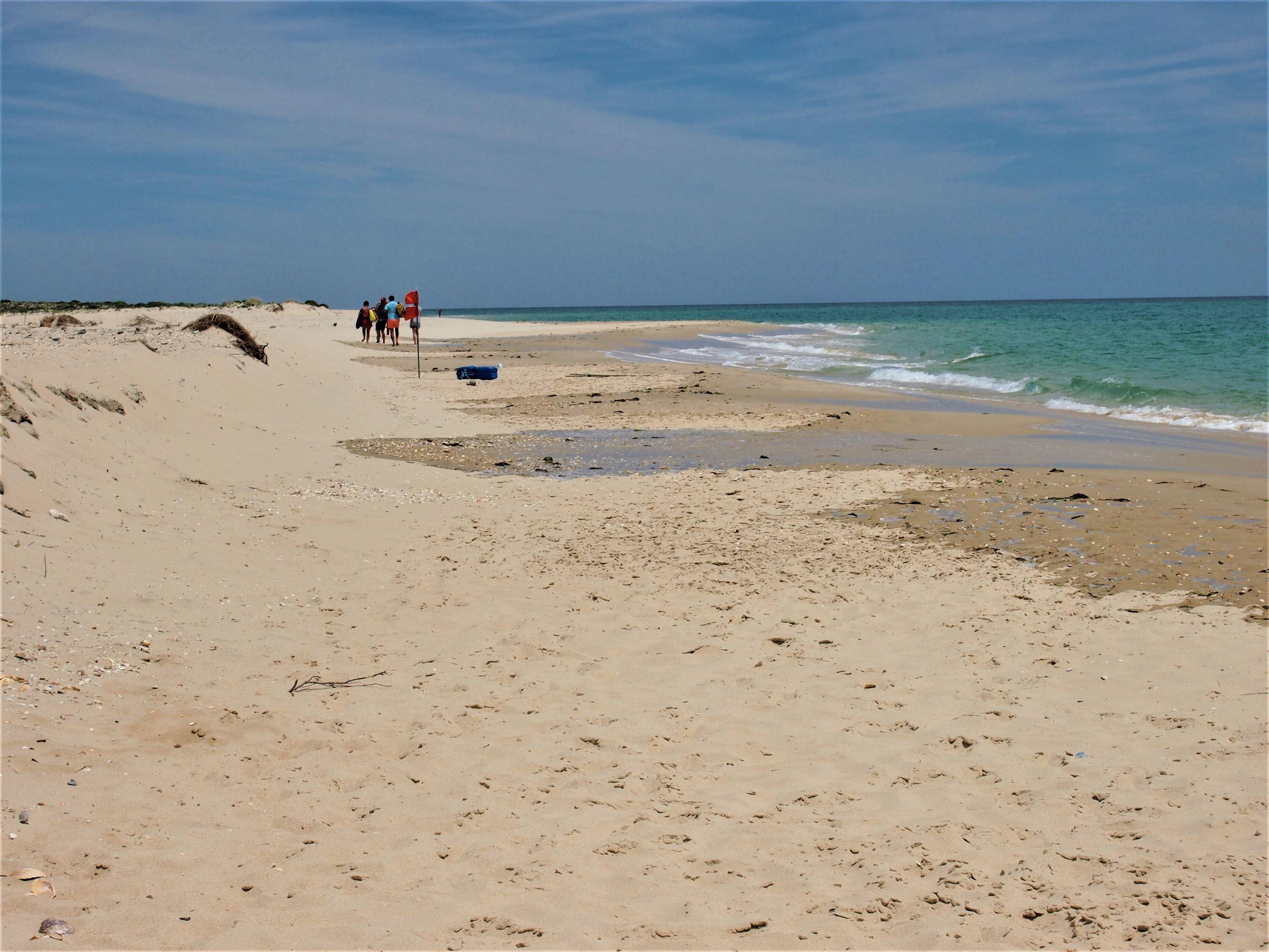Praia da Fuseta-Mar - esta praia situa-se na Ilha da Fuseta, Oceano Atlântico.