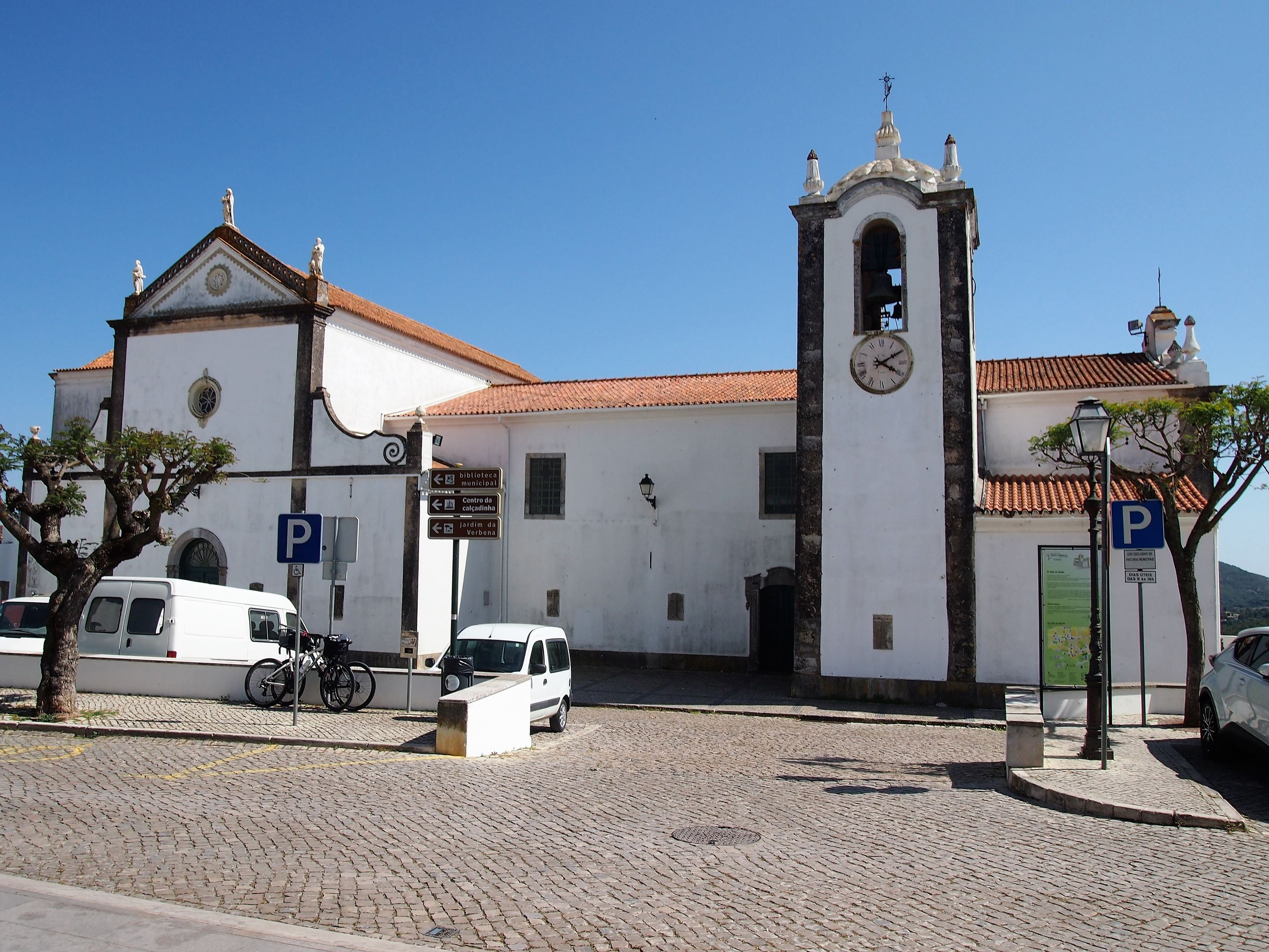 The Igreja Matriz de São Brás de Alportel, the mother church for the town.