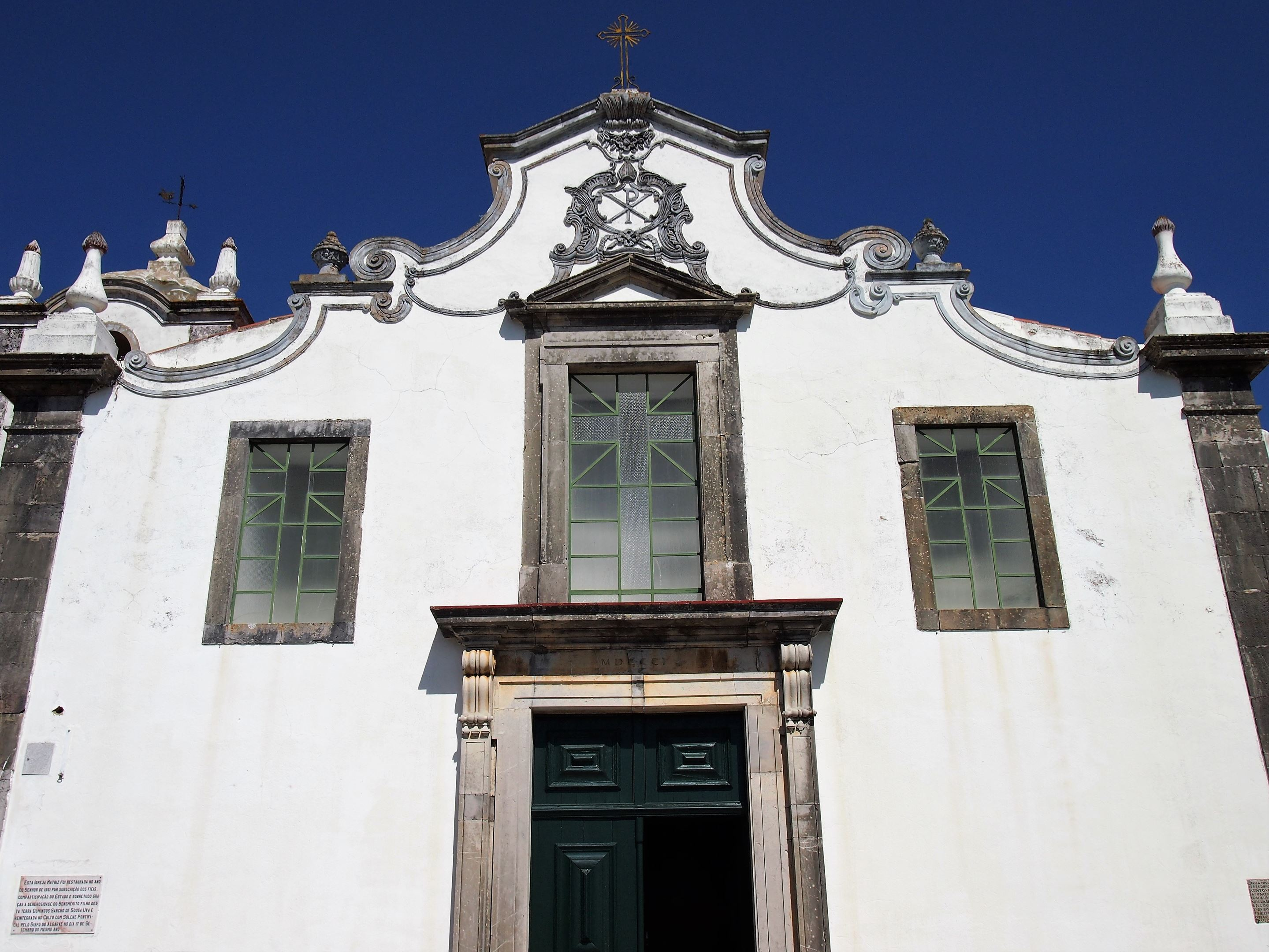 The Parish Church in São Brás de Alportel, Algarve