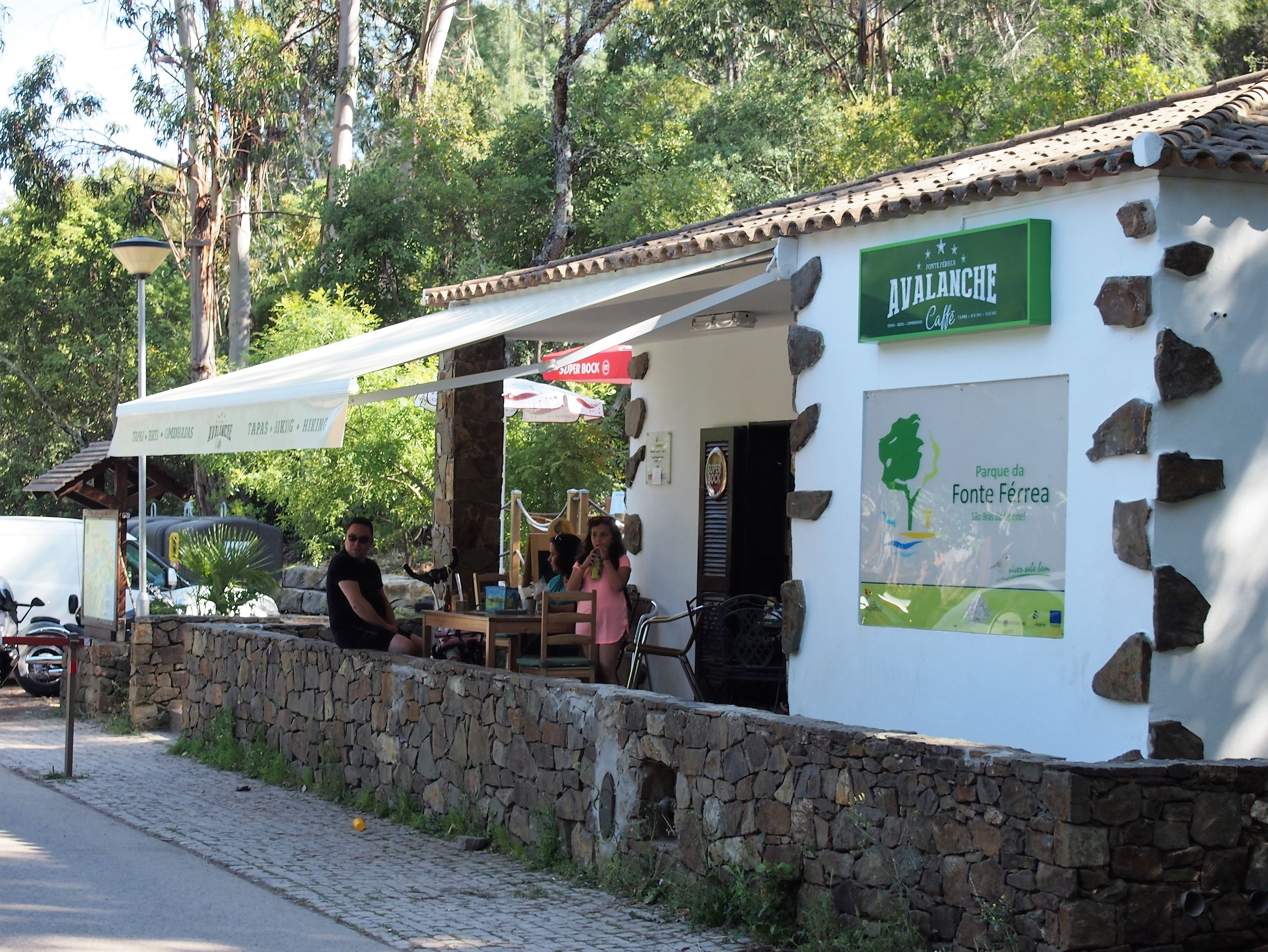 Restaurante Fonte Férrea, perto de São Brás de Alportel