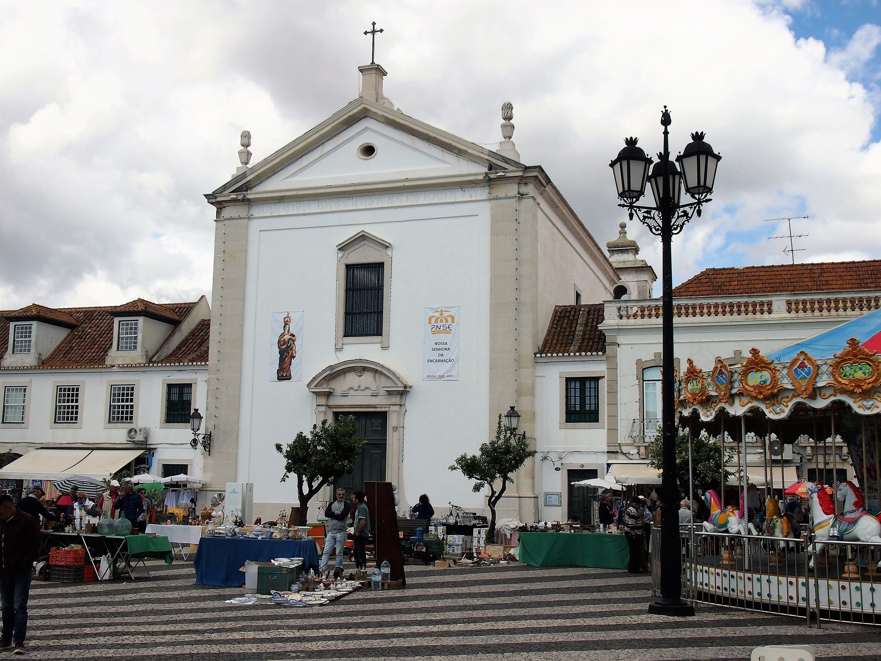 The mother church at Vila Real de Santo António