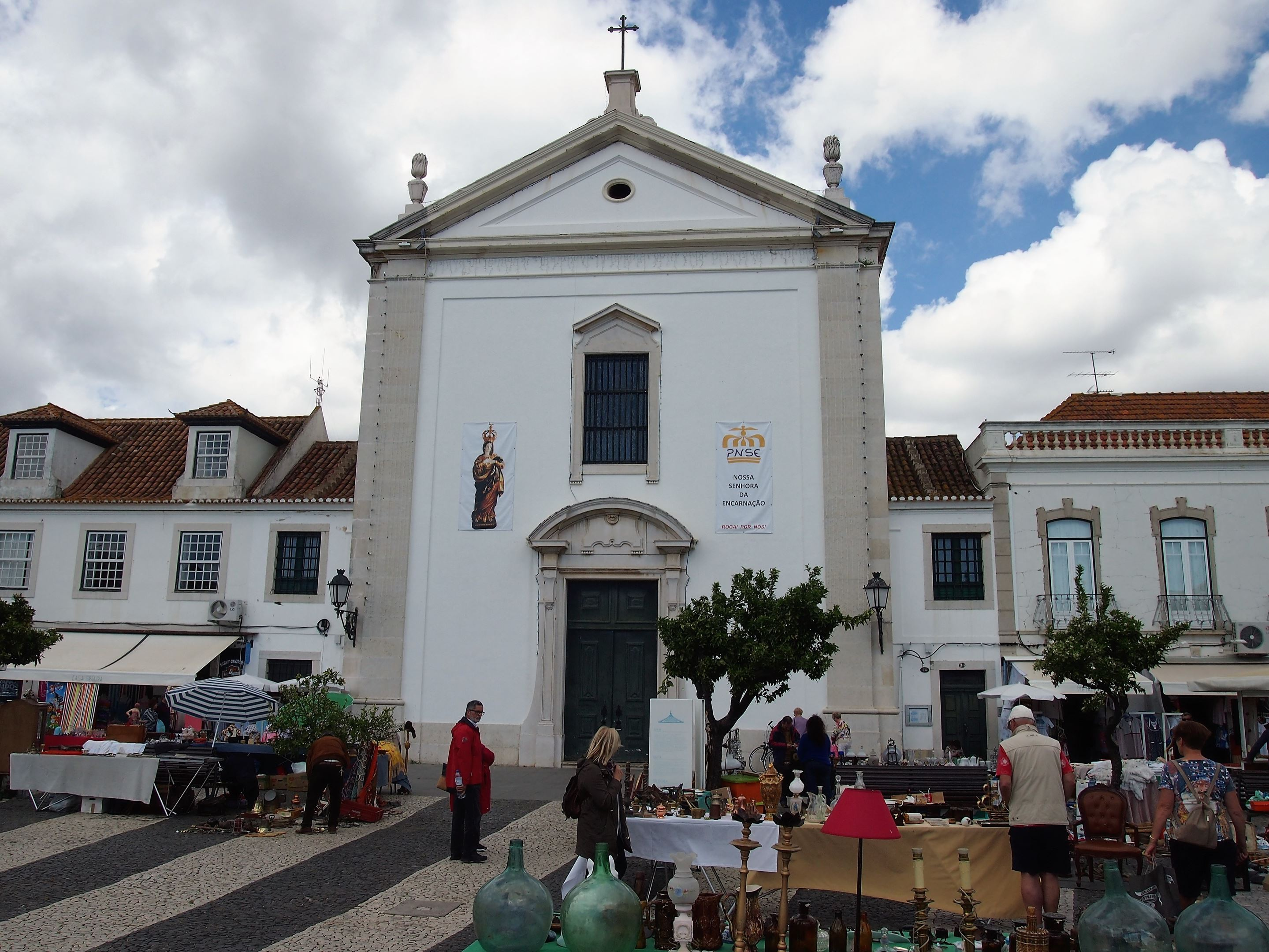 The mother church in Vila Real de Santo António