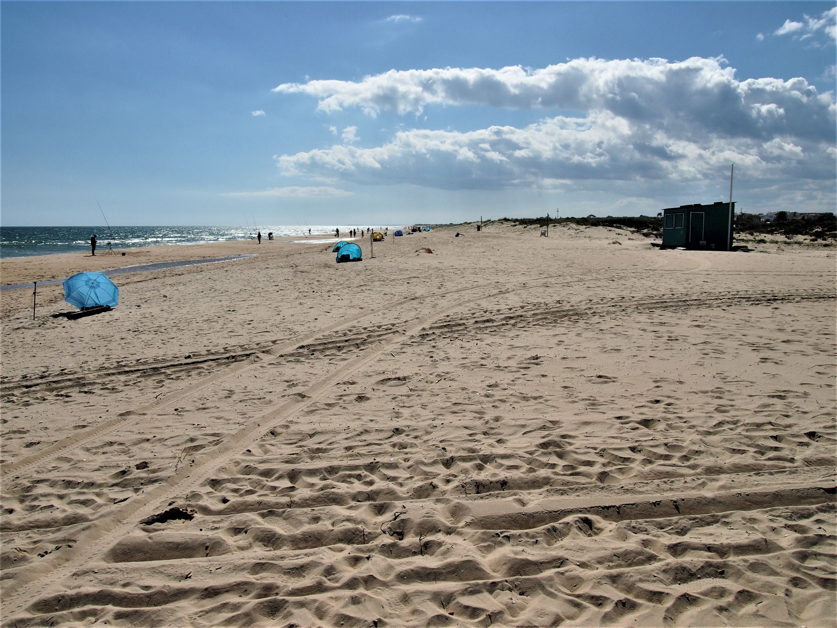 Praia da Lota, near Manta Rota