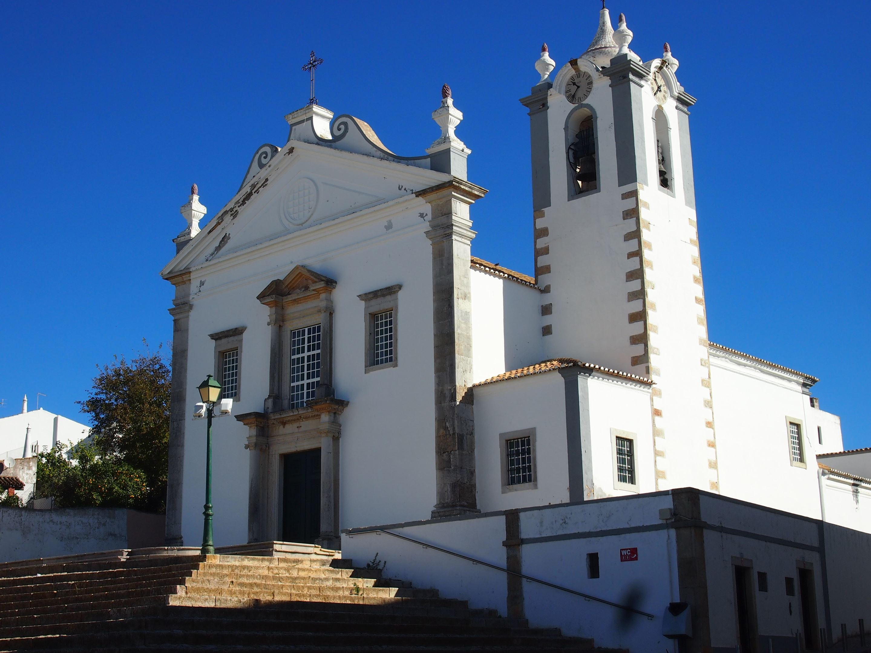 Estoi church - Igreja Matriz de Estoi, Algarve