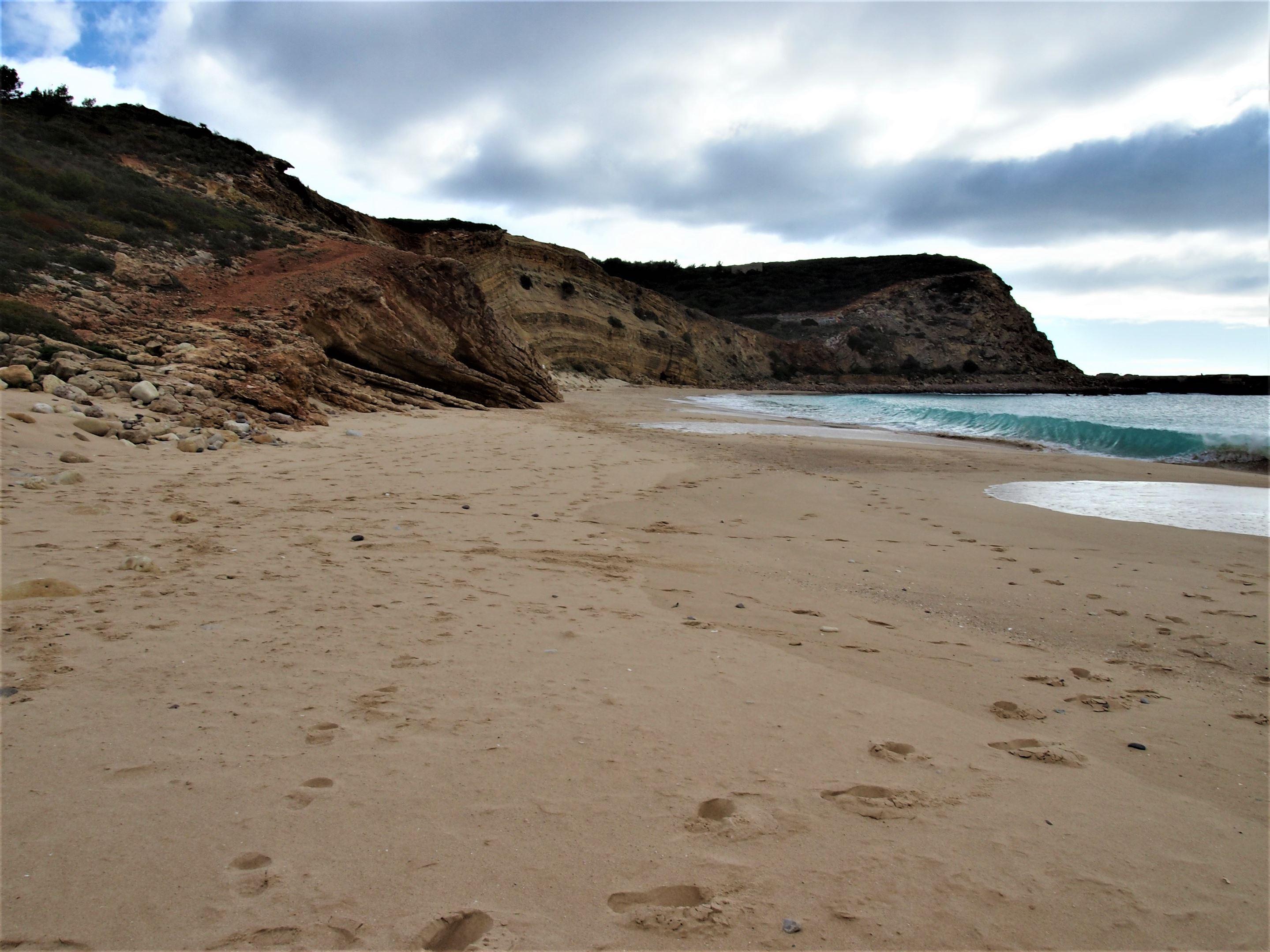 Praia das Cabanas Velhas, Algarve