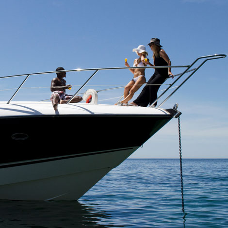 Sunseeker Afternoon Yacht Charter Algarve