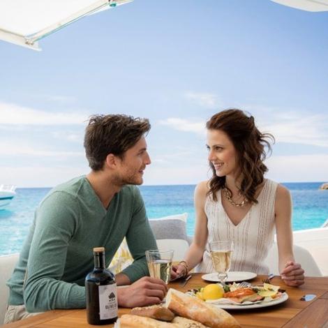 Sunseeker croisière anniversaire de mariage en Algarve