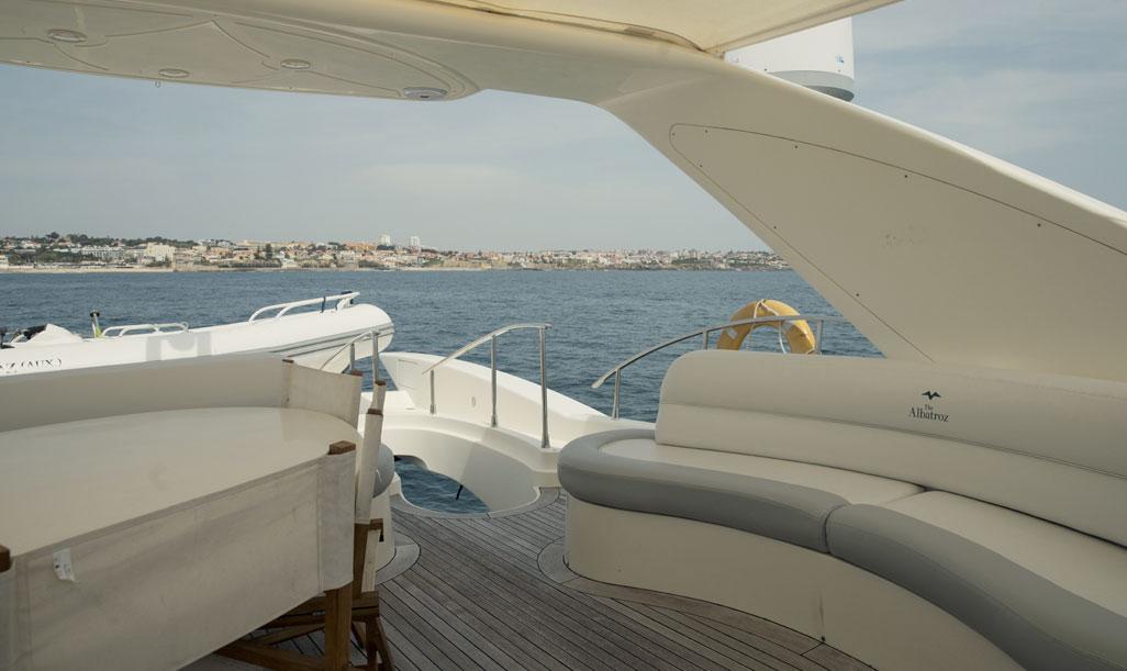 Affrètement yacht Azimut 80