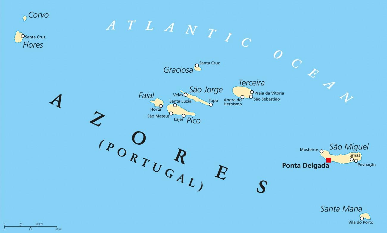 Las Azores El Paraiso Secreto De Europa