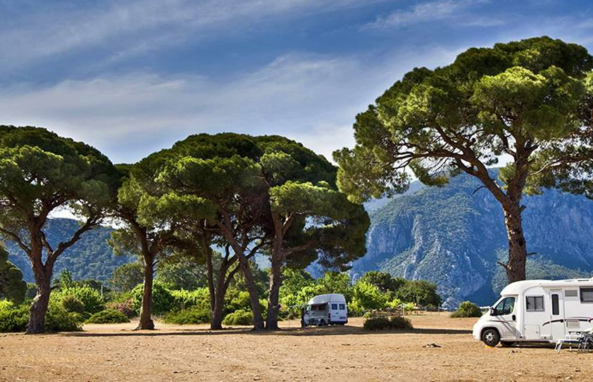 Parking caravane et camping-car en Algarve