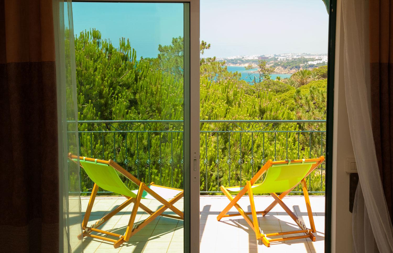 Villa Falesia Sea View From the Balcony