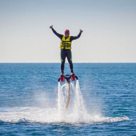 Sunseeker Portofino 53 croisière São Rafael & Flyboard en Algarve