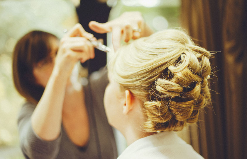 Hairdresser in the Algarve