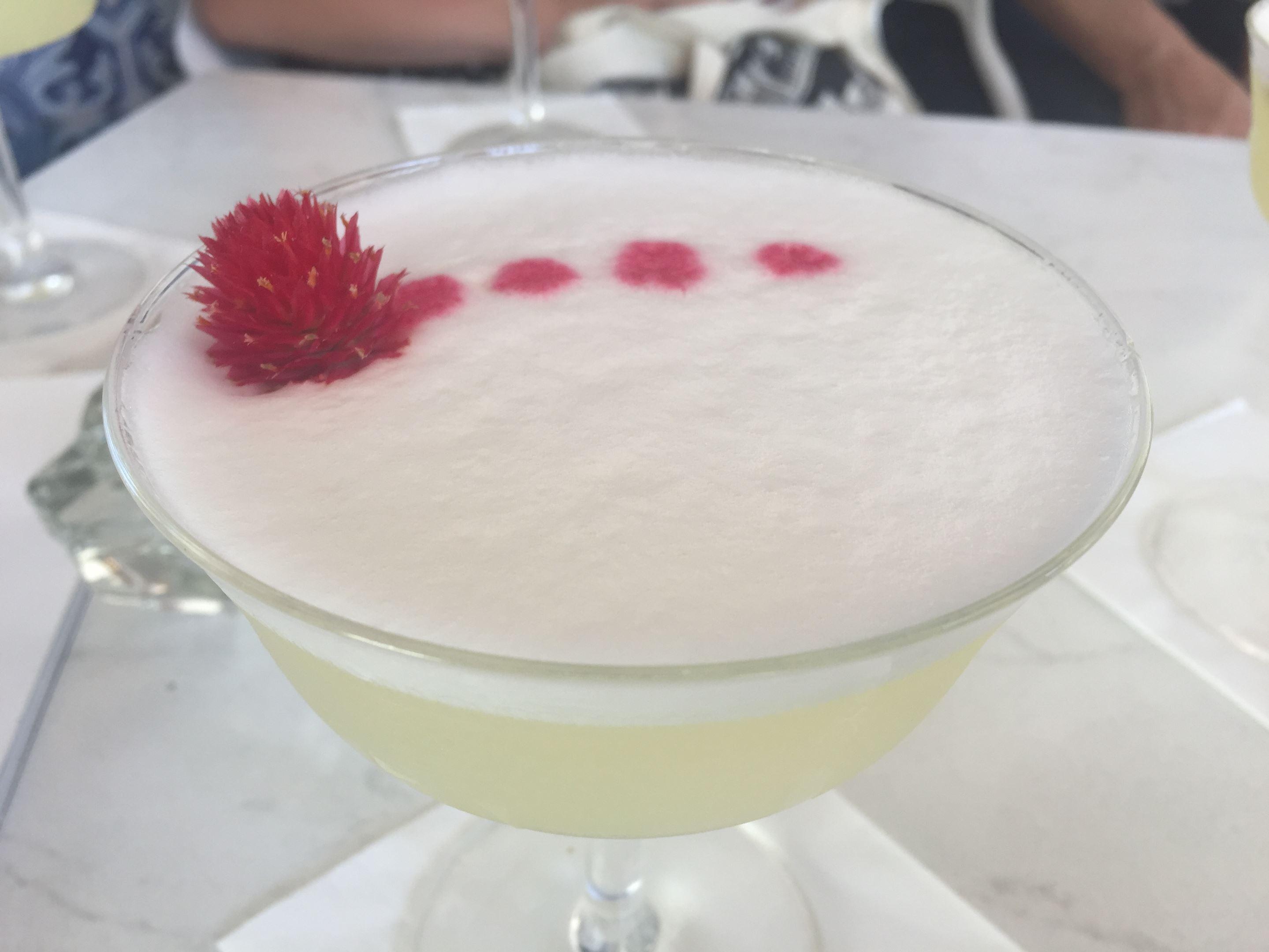 Amarguinha Sour cocktail