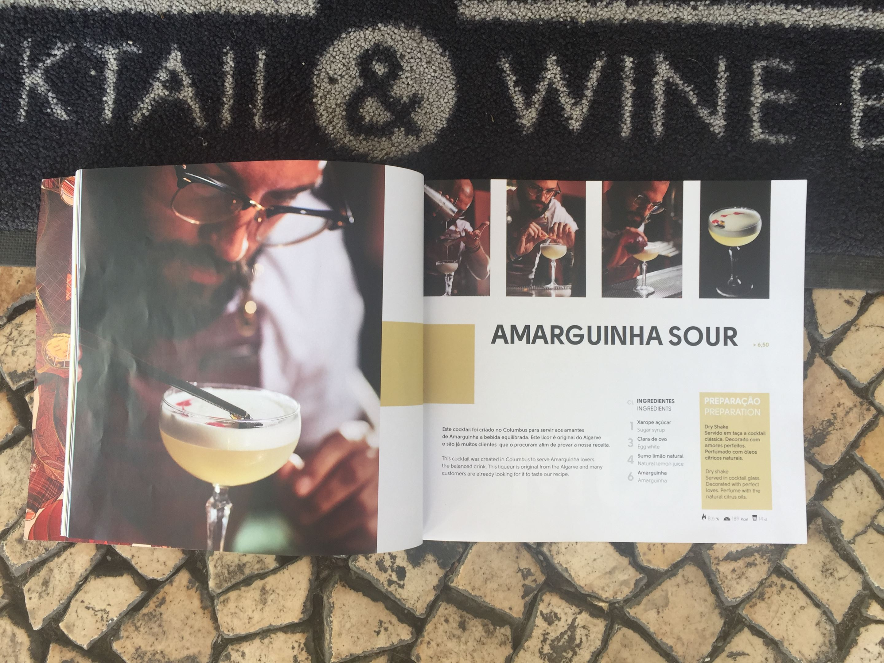 Amarguinha Sour recipe