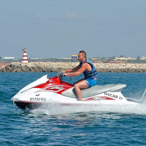 Sunseeker Portofino 53 croisière jet ski en Algarve