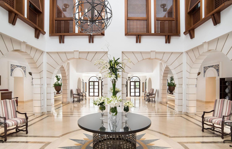 Pine Cliffs Hotel Algarve - Reception Area