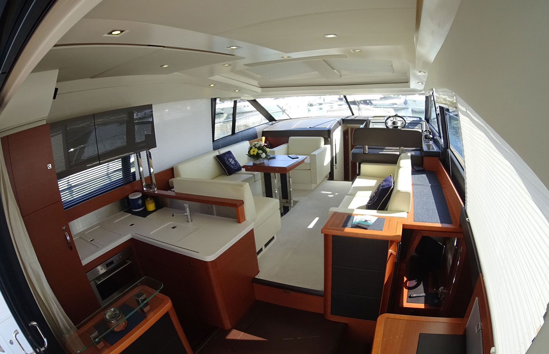 Jeanneau Prestige 500 S - Living Room