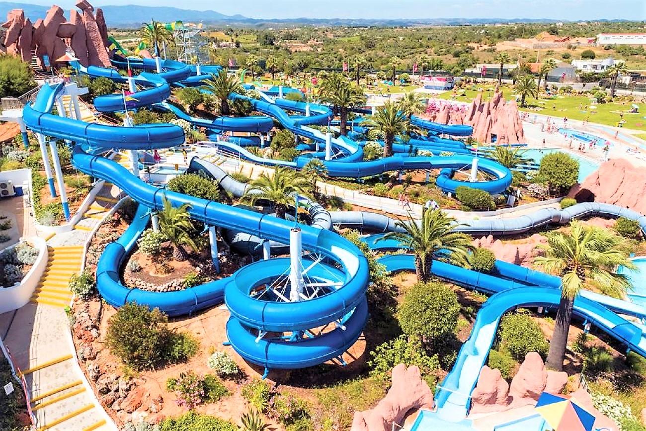Slide & Splash water park, Algarve, Portugal