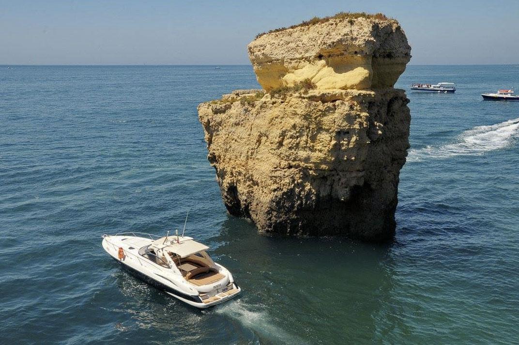 Sunseeker Superhawk 34 Algarve Coastline Exploration