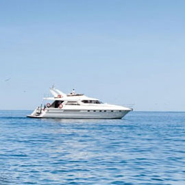 Princess 66 Yacht Charter Half Day Tour