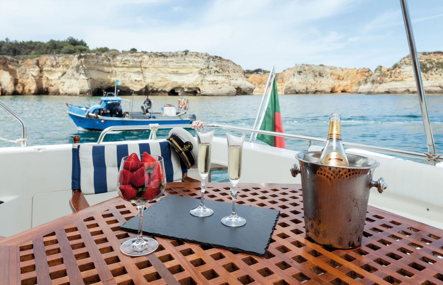 Princess 66 Luxury Yacht Charter in Algarve, Portugal