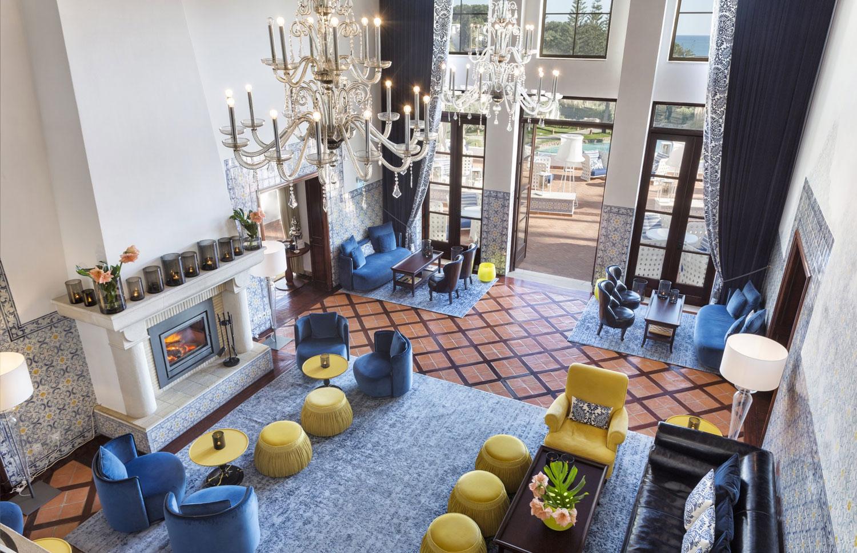 Vila Vita Parc Hotel - Espace salon