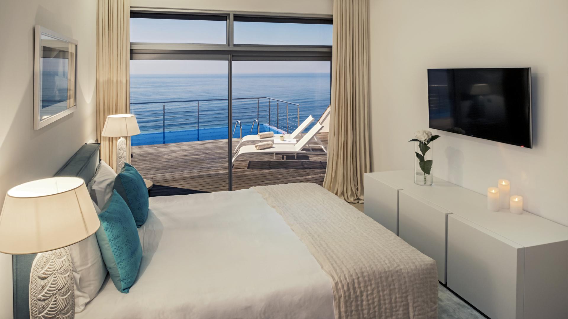 Villa Mar Azul - Chambre