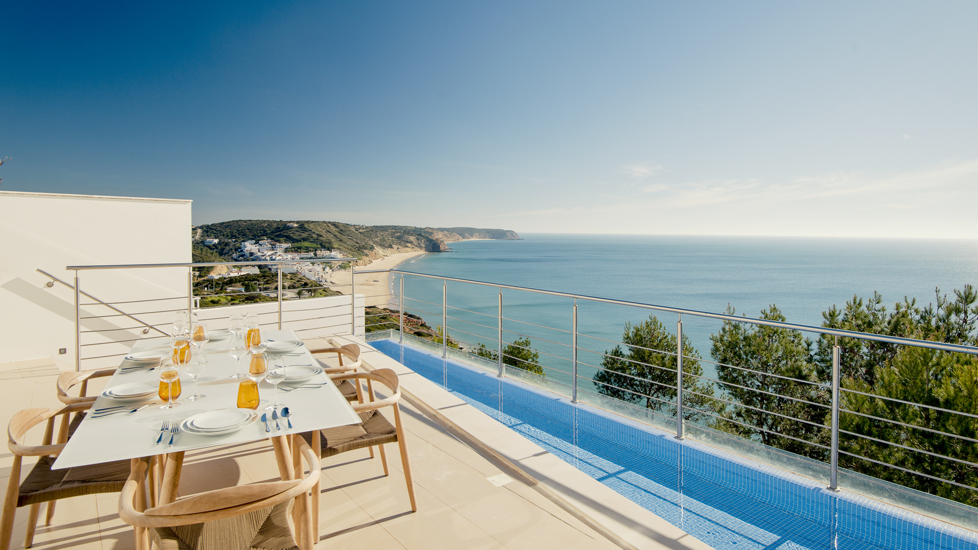 Villa Mar Azul - terrace
