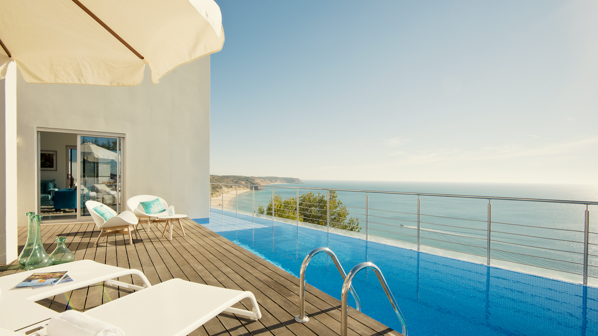 Villa Mar Azul - piscine terrasse