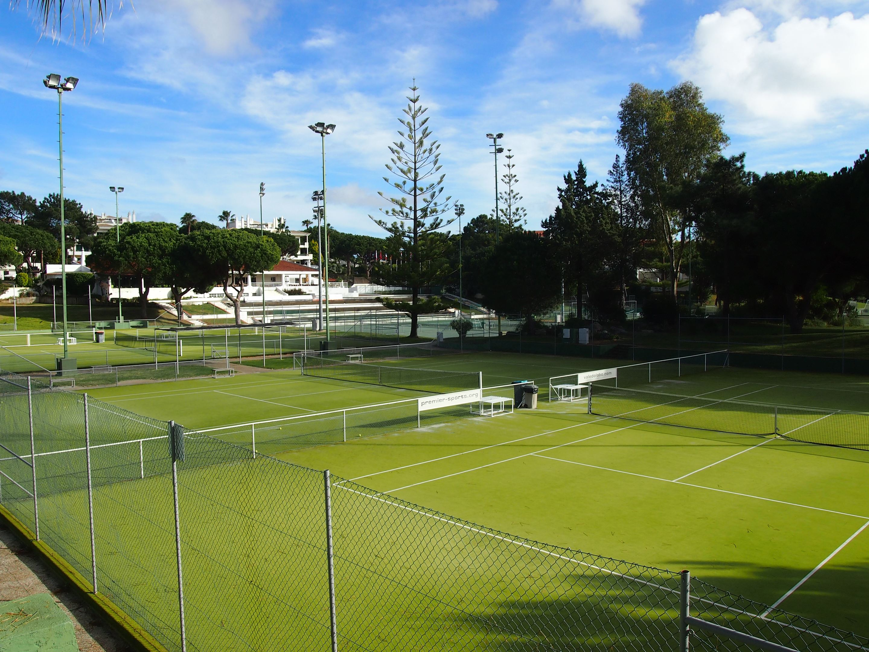 Tennis en Algarve : Ecole de tennis de Vale do Lobo
