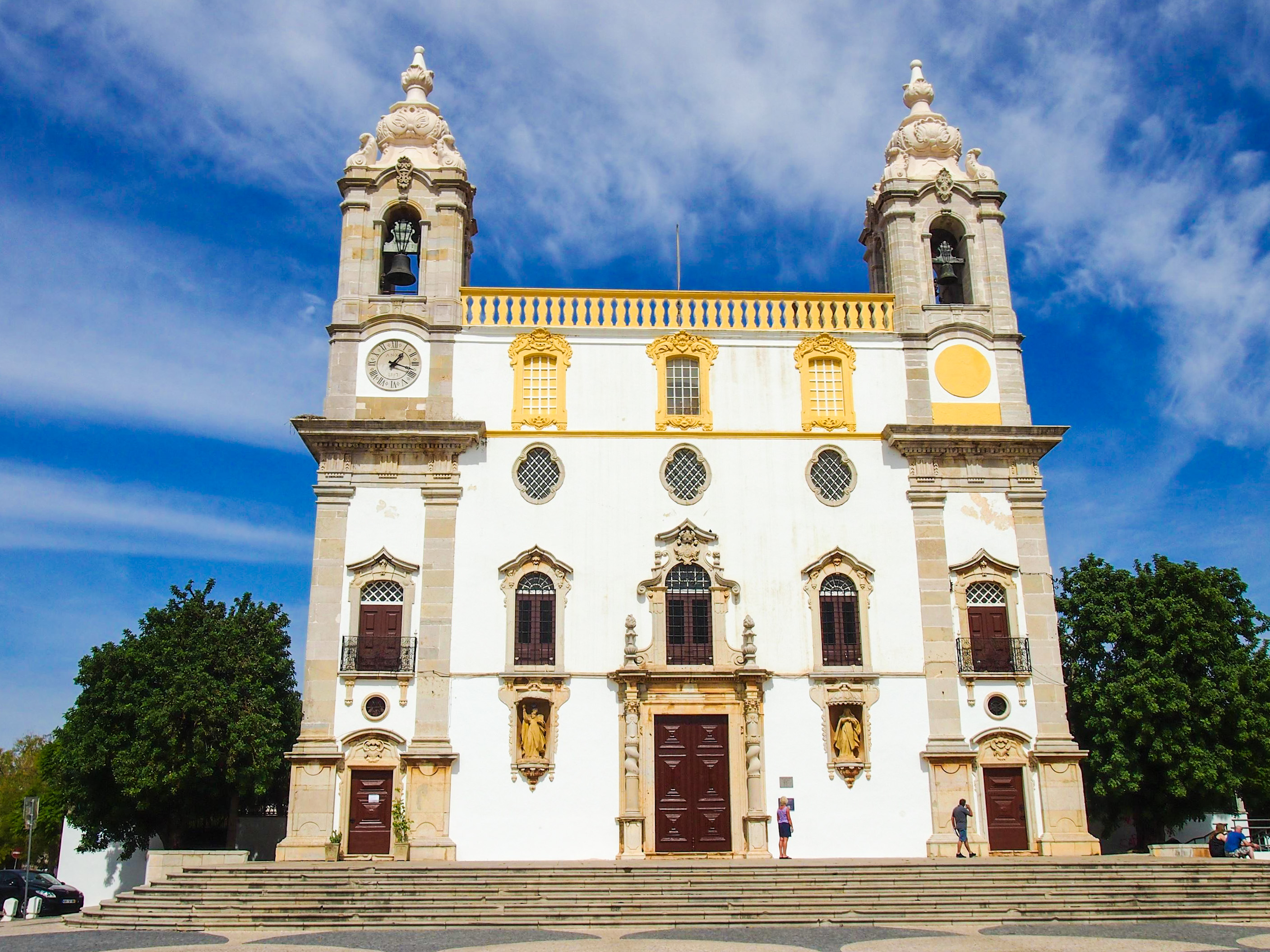 Igreja do Carmo, Faro. Igreja signifie église en portugais.