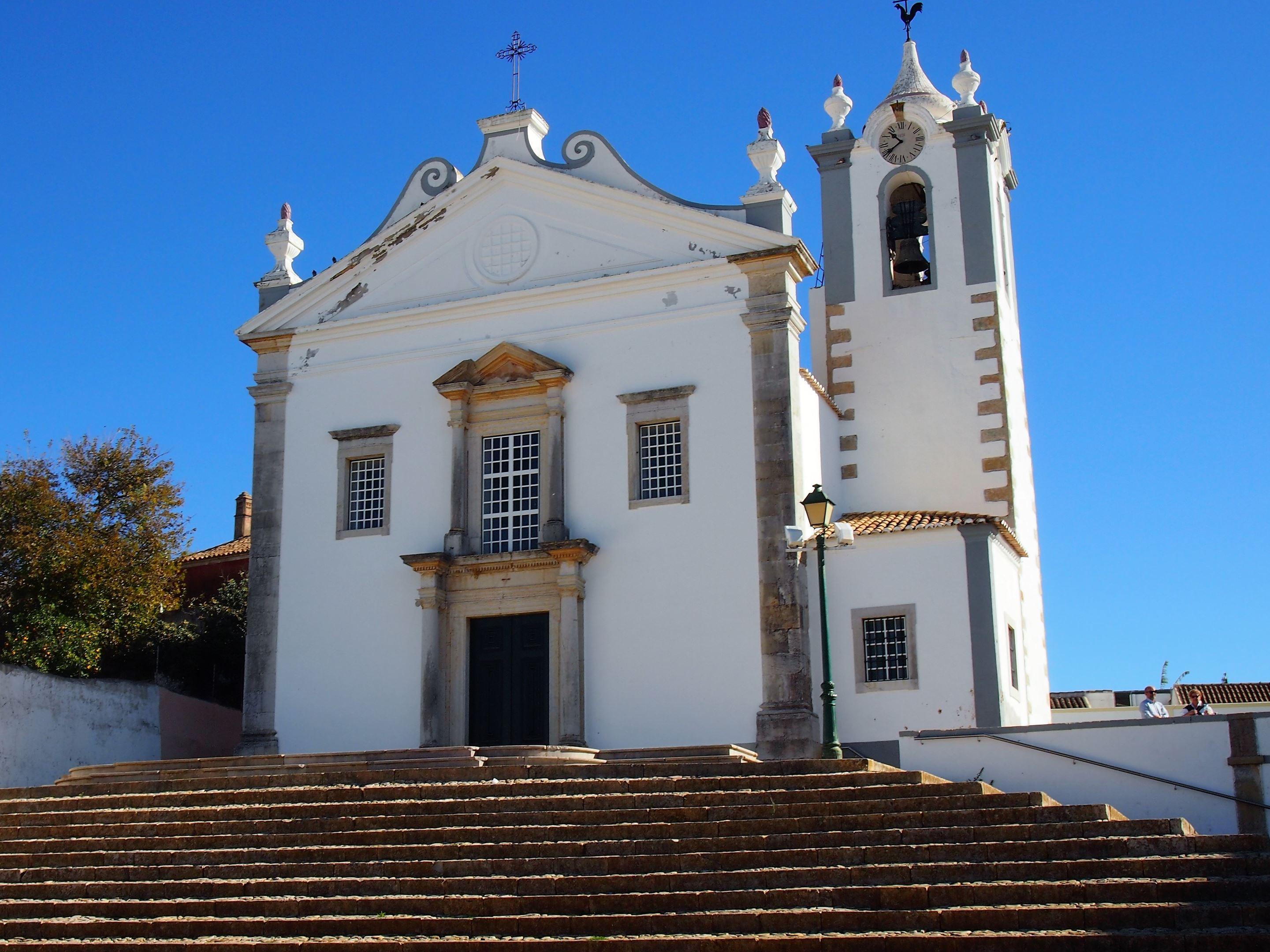 Igreja Matriz de Estoi, l'église principale située dans le centre d'Estoi
