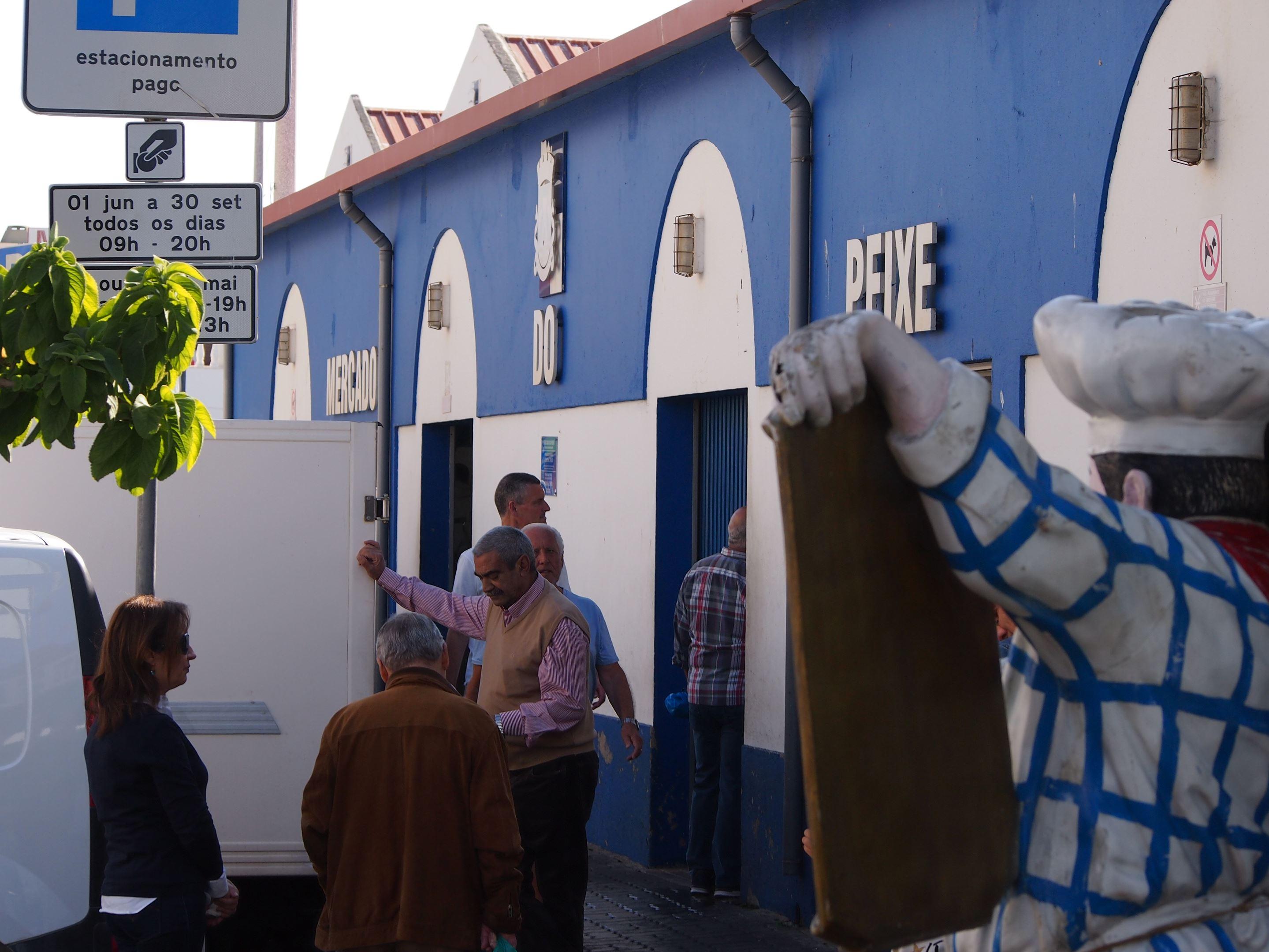 Mercado do Peixe - Quateira Fish Market, Algarve