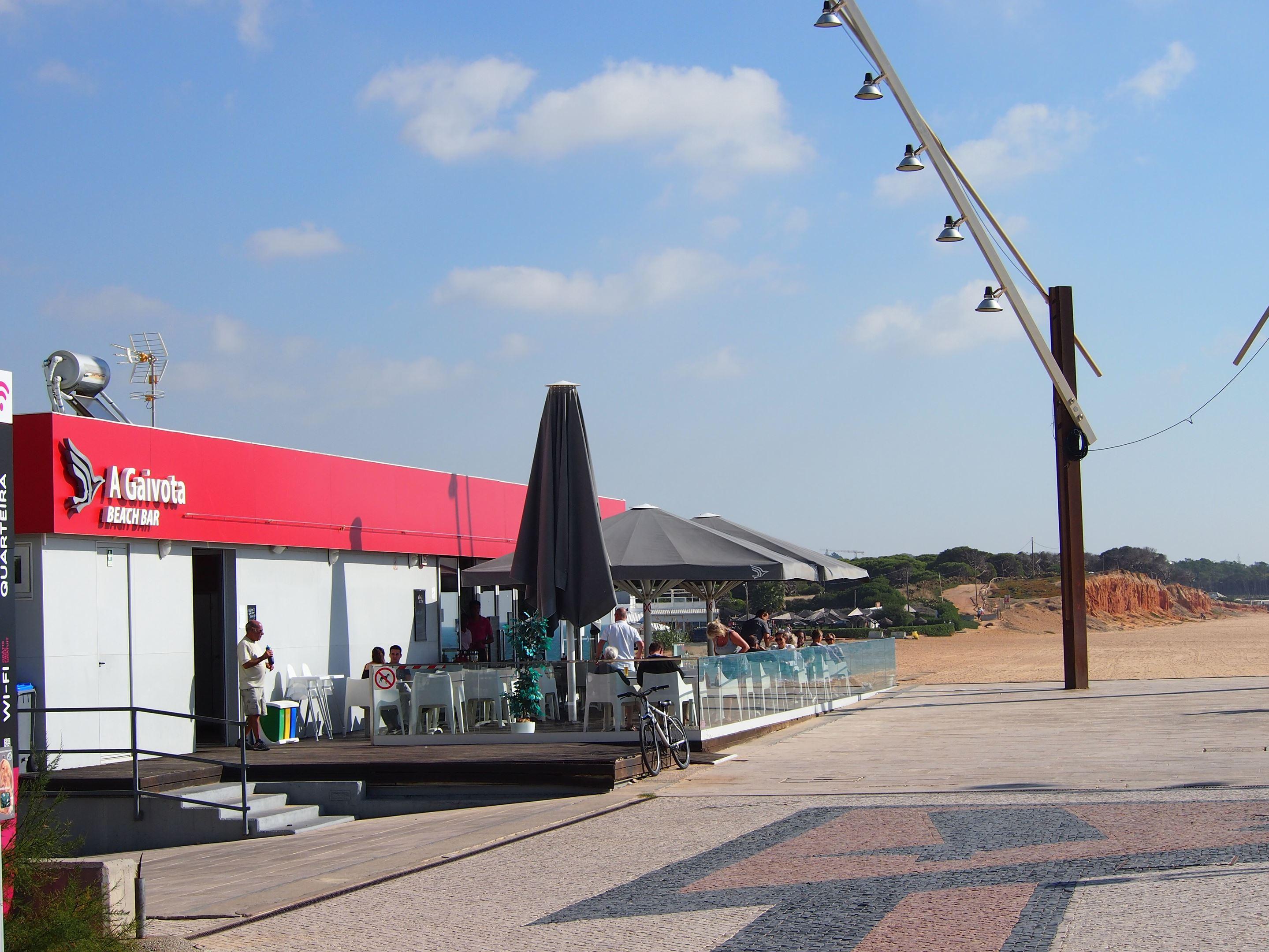 Gaivota Beach Bar, Quarteira, Algarve