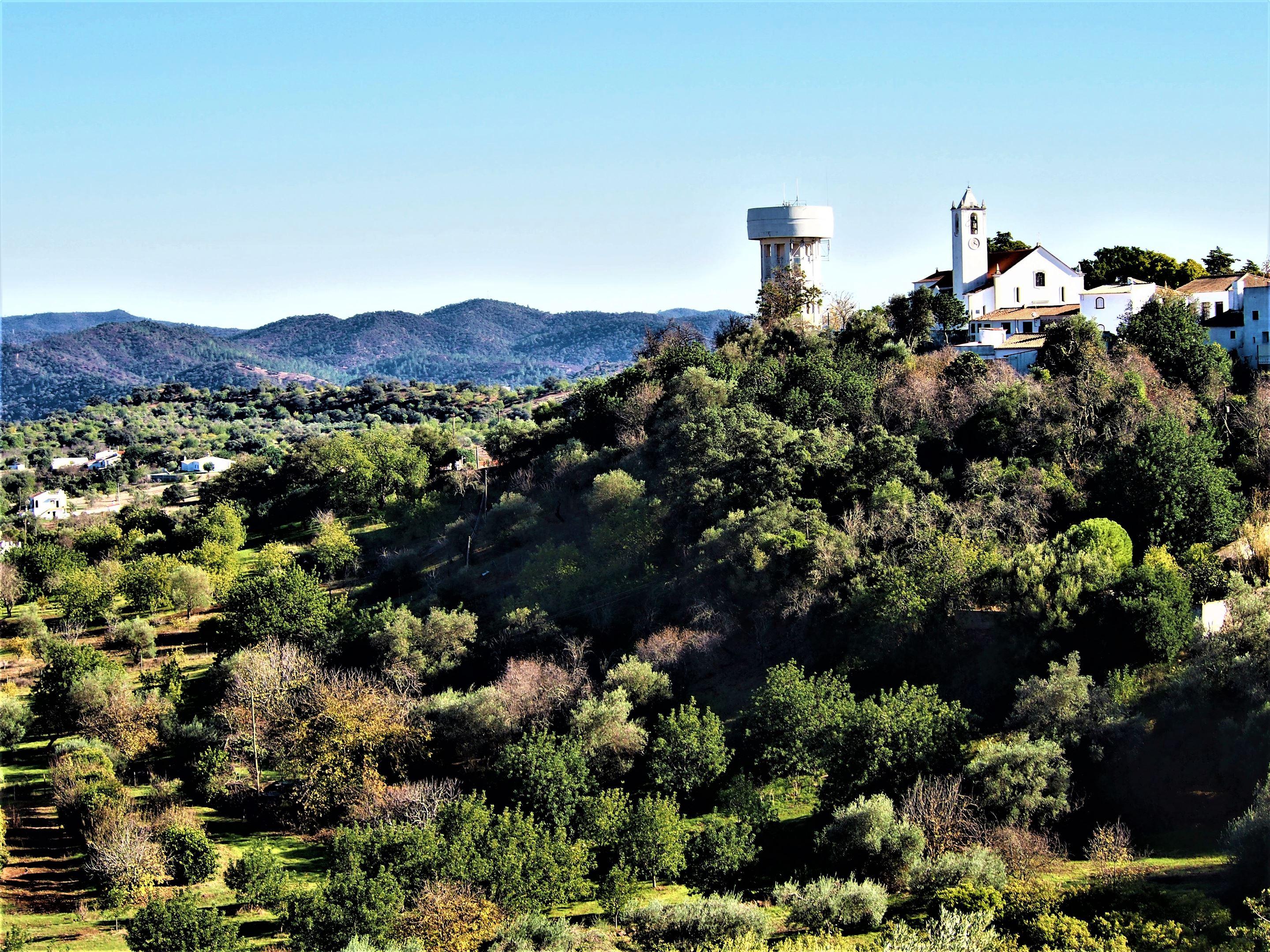 Vistas desde el Castillo de Salir