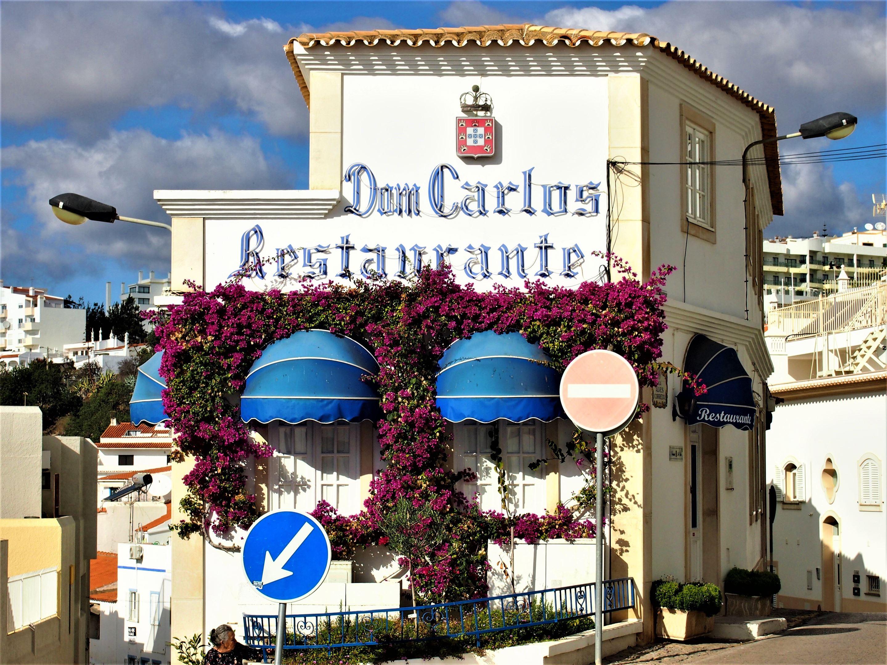 Ресторан «Dom Carlos», Албуфейра.
