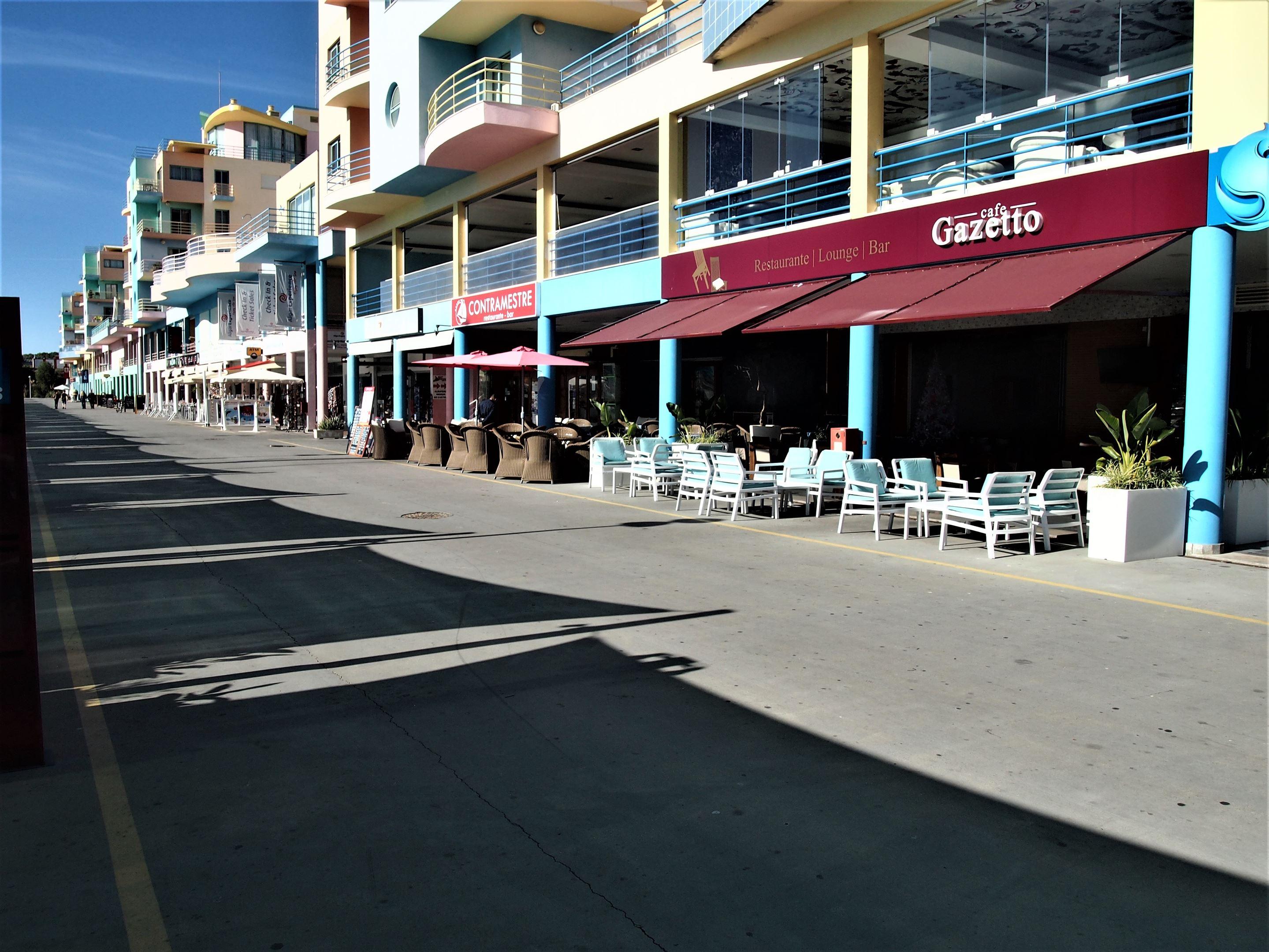 Café Gazetto, Albufeira Marina