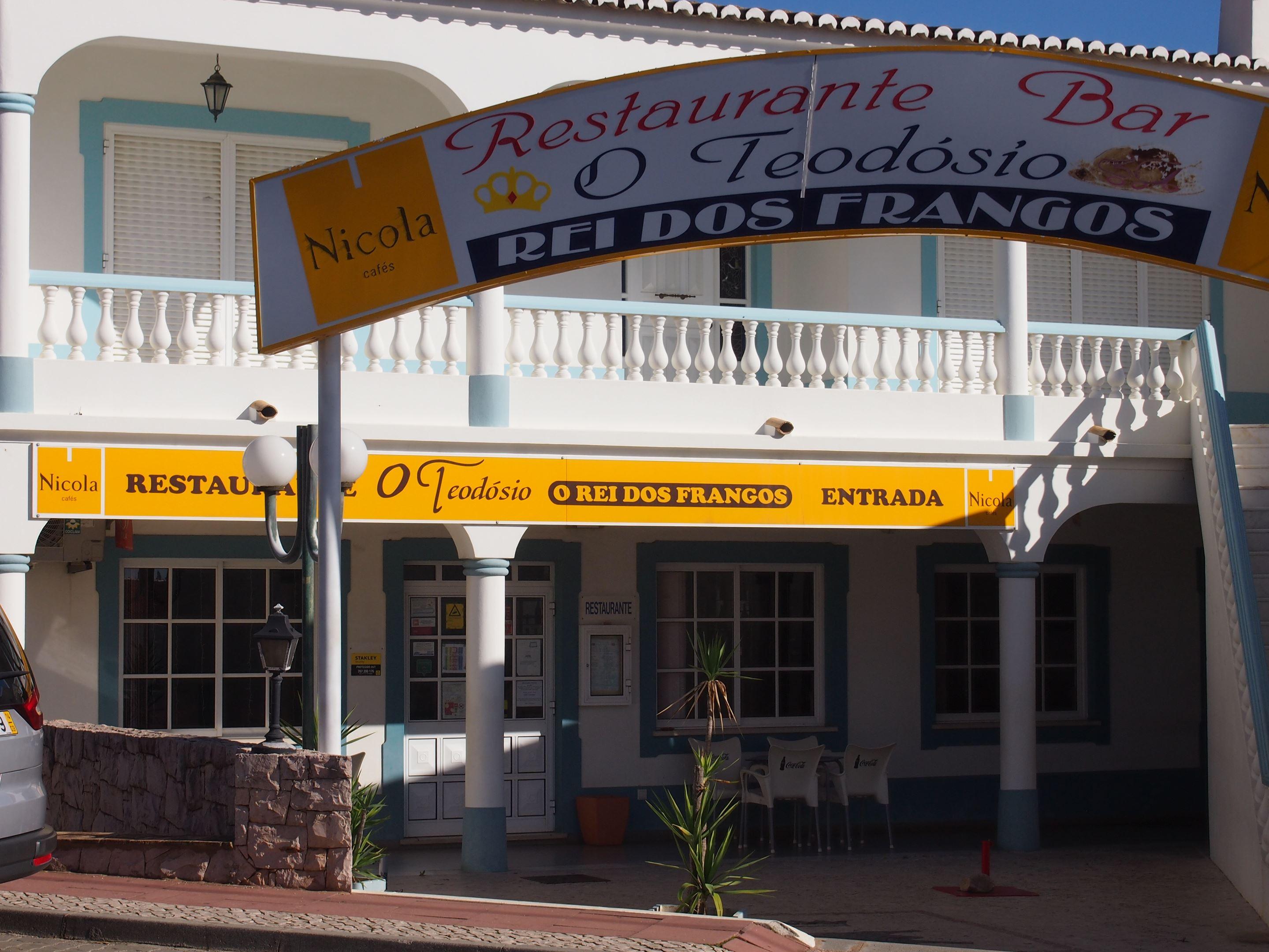 O Teodósio restaurant, Guia, Algarve