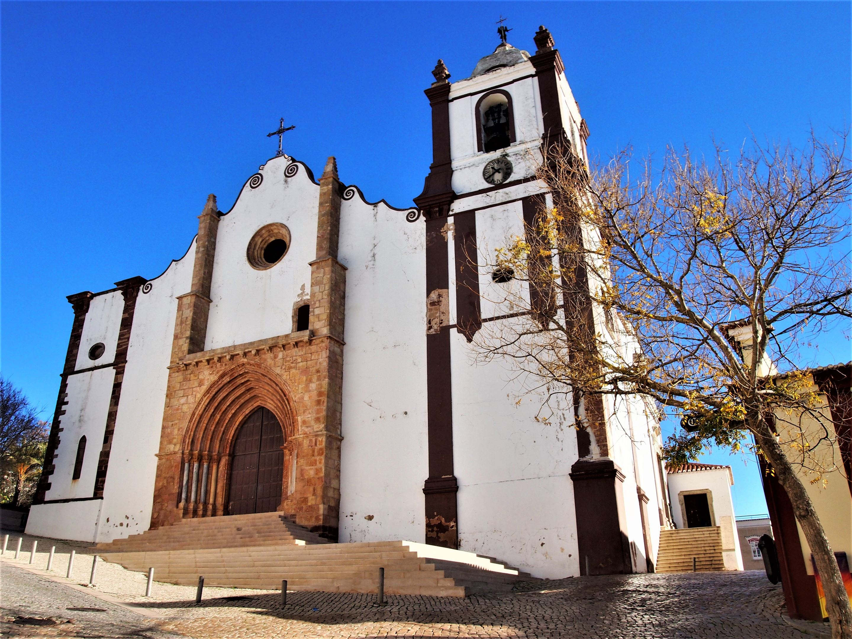 Entrance to Silves Cathedral, Algarve