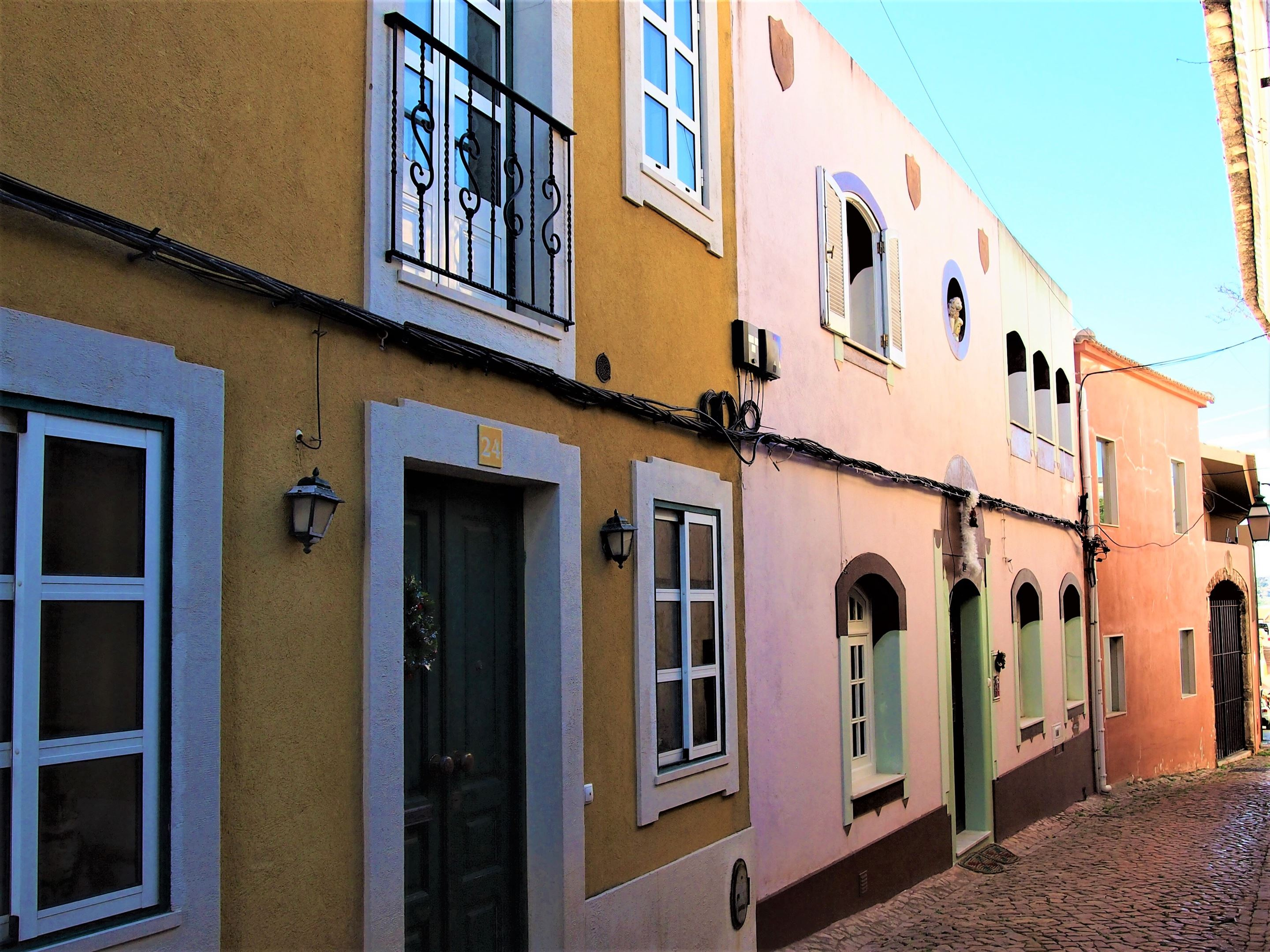 Typical architecture in Silves, Algarve