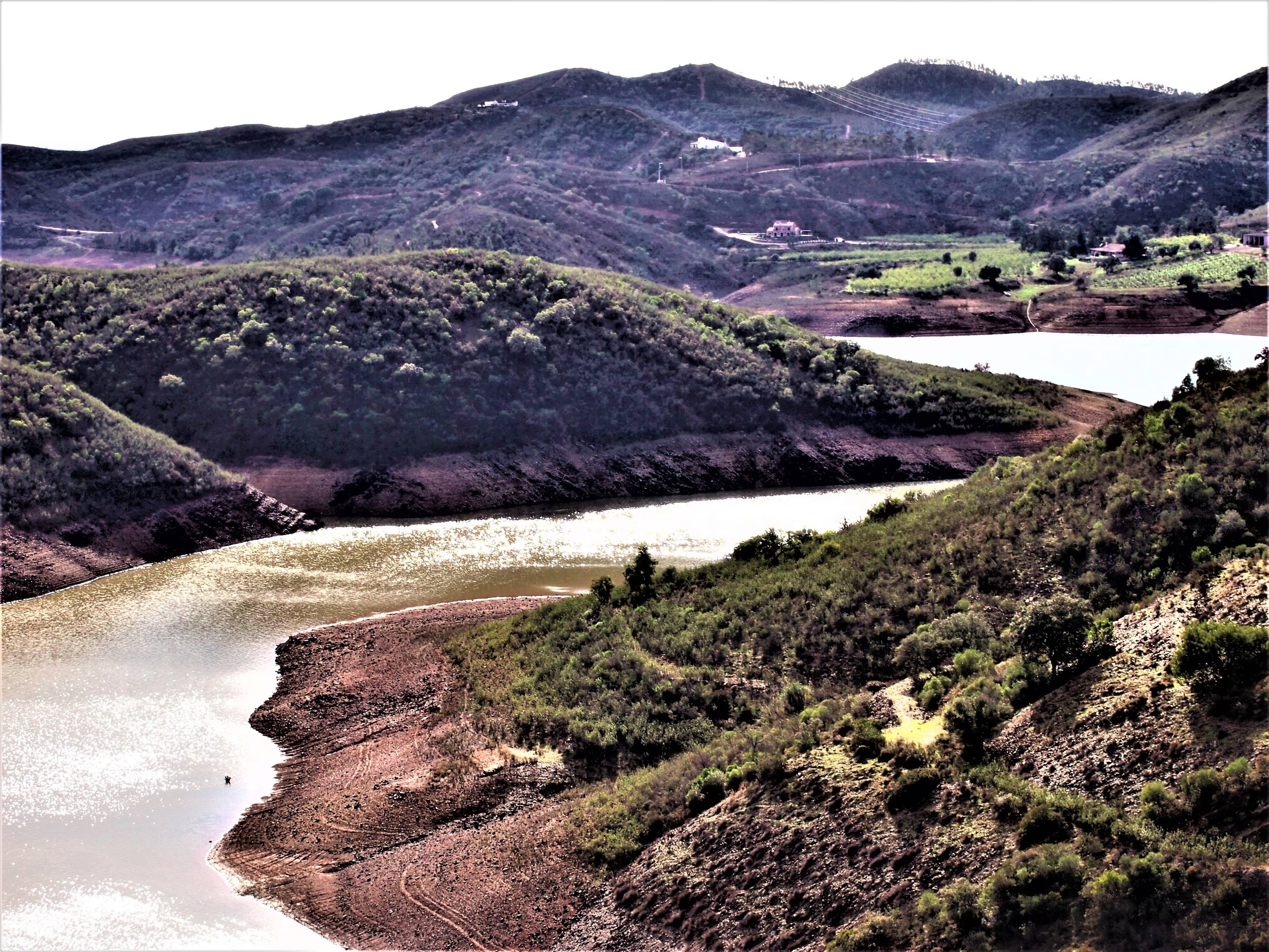 Barragem do Funcho (or Funcho Dam), near São Bartolomeu de Messines, Algarve