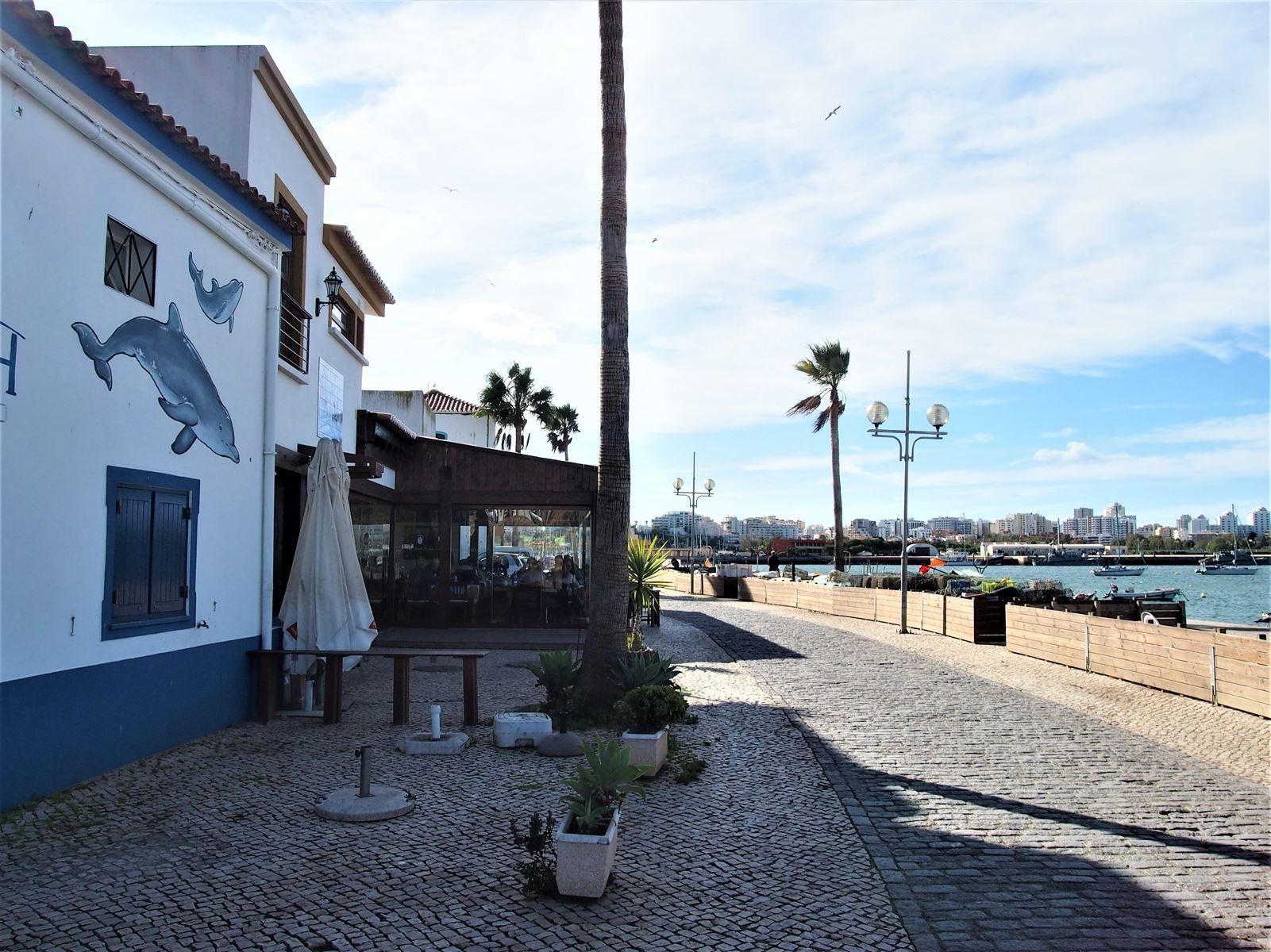 Promenade at Ferragudo, Algarve