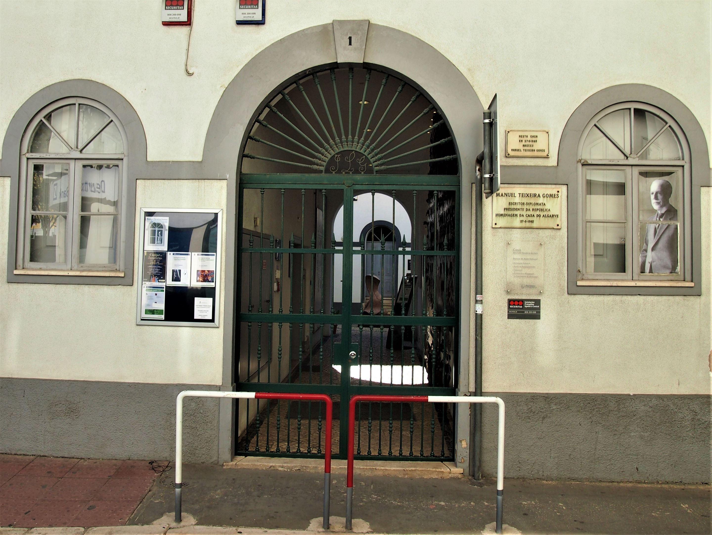 Casa Manuel Teixeira Gomes, Portimão. Lugar de nacimiento del ex-presidente de Portugal y ahora un museo